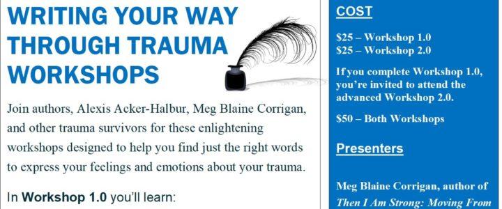 Writing Your Way Through Trauma Workshop